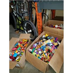 4 BOXES OF TOYS