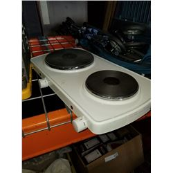 SULTON DOUBLE BURNER HOT PLATE