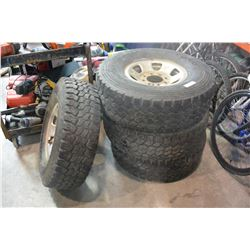 4 265/75 R16 TIRES