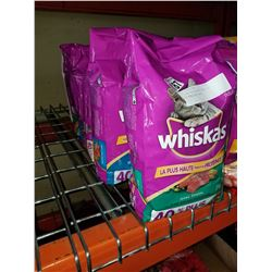 5 NEW 5KG SEALED BAGS OF WHISKAS CAT FOOD