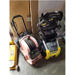 2 RETURNED ELECTRIC POWER WASHERS