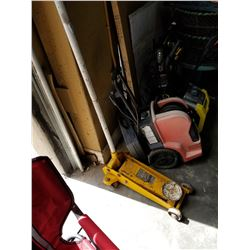 YELLOW HYDRAULIC FLOOR JACK
