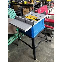 NEW MASTERCRAFT 10 INCH TABLE SAW WITH FENCE