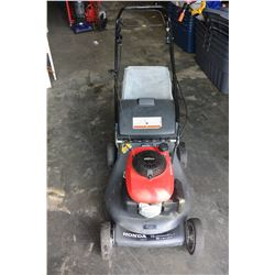 HONDA LAWNMOWER W/BAG