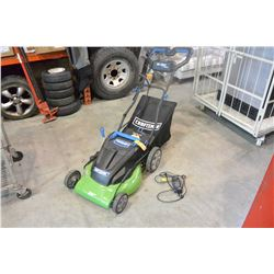 GREEN CRAFTSMAN 36V CORDLESS LAWN MOWER - WORKING