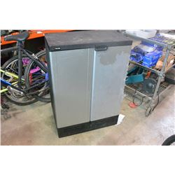 BLACK AND DECKER 2 DOOR GARDEN/SHOP CABINET