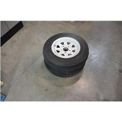 "2 13"" TRAILER TIRES ON RIMS"