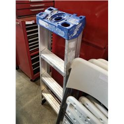 4FT ALUMINUM A-FRAME LADDER