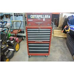 RED 2 PIECE TOOL CHEST W/ CONTENTS