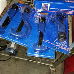 4 NEW WESTWARD QUICK-ACTING PIPE CUTTERS