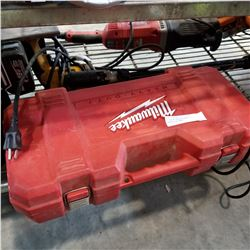 AS NEW MILWAUKEE HEAVY DUTY SAWZALL IN CASE