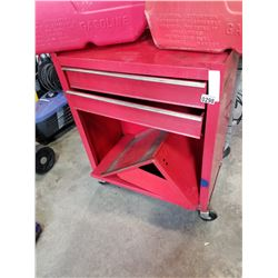 RED METAL ROLLING TOOLCHEST