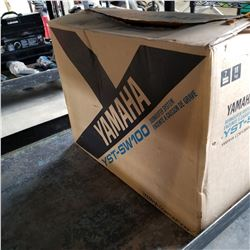 YAMAHA SUBWOOFER SYSTEM YST-SW100 TESTED AND WORKING