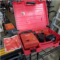 HILTI SF-100A POWERDRILL W/ BATTERY AND CHARGER