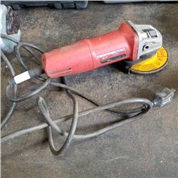 MILWAUKEE ANGLE GRINDER TESTED AND WORKING