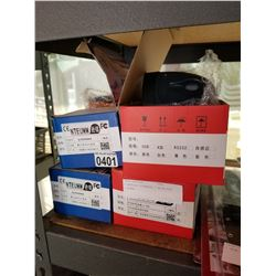 4 BARCODE SCANNERS 2 WIRELESS 2 WIRED
