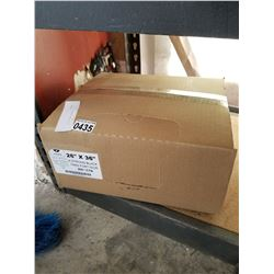 BOX OF 200 GARBAGE BAGS 26 x 36 INCHES