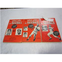 1970s BASEBALL RECORD BOOKS