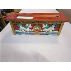 VINTAGE CHINESE SCROLL BOX