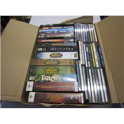 BOX OF CDS WARCRAFT