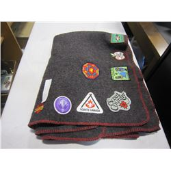 BOY SCOUT BLANKET