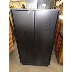 BLACK CABINET WITH KEY