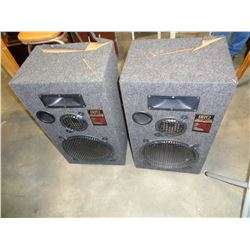 PAIR OF 8812 LINEAR PHASE STUDIO MONITOR SPEAKERS