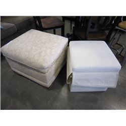 FLOWER OTTOMAN AND OTHER OTTOMAN