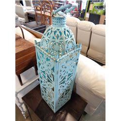 3FT TALL METAL CANDLE HOLDER