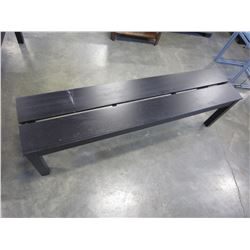 BLACK 5FT BENCH