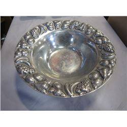 PEWTER FRUIT DISH