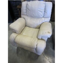 BEIGE RECLINER CHAIR