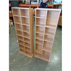 TWO 4 FOOT SHELVES