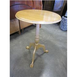 CLAW FOOT PARLOUR TABLE
