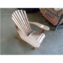 SMALL CEDAR ANARONDAK CHAIR