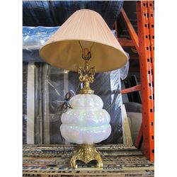 IRIDECENT GLASS LAMP
