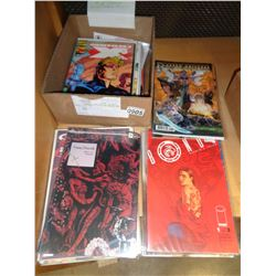 BOX OF 30 COLLECTIBLE COMICS