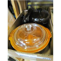 LOT OF VISION OVENWARE