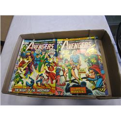 TRAY OF AVENGERS COMICS