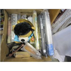 BOX OF ELVIS BOOKS AND COLLECTIBLES