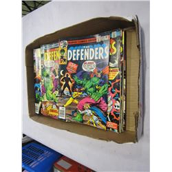 TRAY OF DEFENDERS COMICS