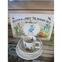 PETER RABBIT WEDGEWOOD NURSERY SET