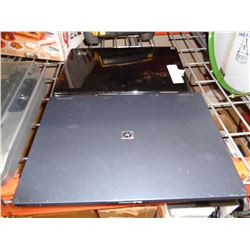 2 HP LAPTOPS NO POWER CORDS - UNTESTED