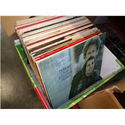 BOX OF RECORDS, SIMON AND GAR FUNKEL AND OTHERS