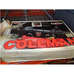 COLEMAN CAMP STOVE IN BOX