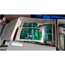 12 BAGS OF NEW PINE PET BEDDING AND LITTER - RETAIL $720