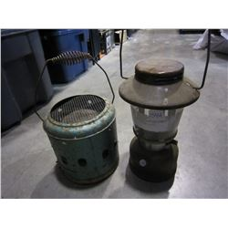 METAL HEATER AND LANTERN