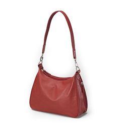 Red Leather Concealed Carry Handbag