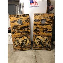 Bighorn Sheep Cornhole Boards