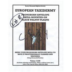 Antelope Euro Mount Certificate